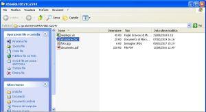 Office online - file presenti in cartella